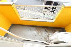 ジュネパレス松戸第55 201号室のバルコニー