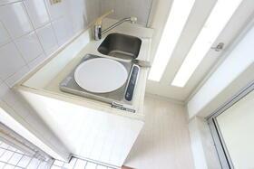 ジュネパレス松戸第55 201号室のキッチン