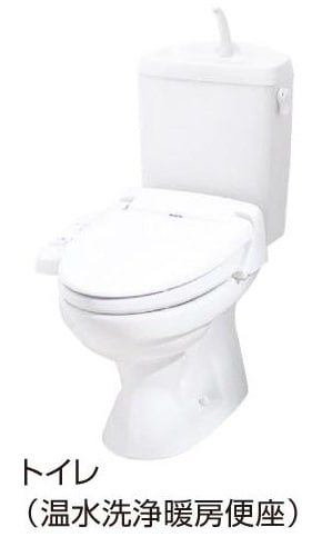 ドリームⅡ 01010号室のトイレ