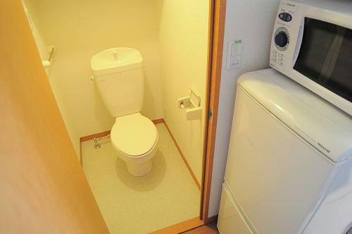 レオパレス山都 208号室のトイレ