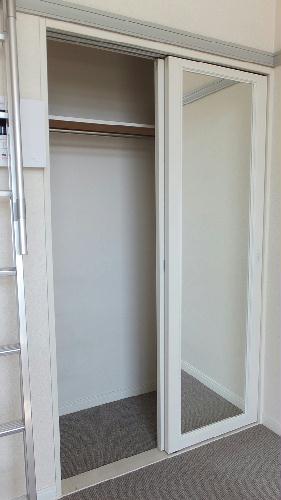 レオパレスドミールI 101号室の収納