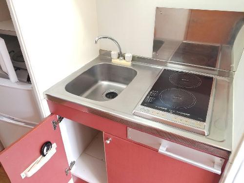 レオパレスグランドゥールⅡ 303号室のキッチン
