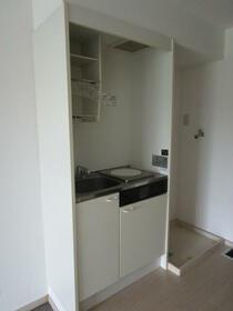 リバーサイド西新宿 0202号室のキッチン