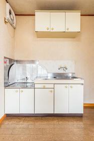 コーポアルファー 0201号室のキッチン