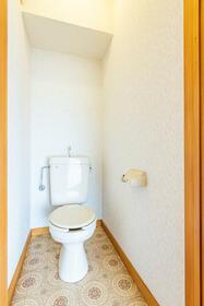 コーポアルファー 0201号室のトイレ