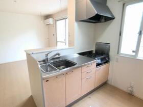 サンファースト E 102号室のキッチン