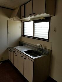 サンハウス 202号室のキッチン