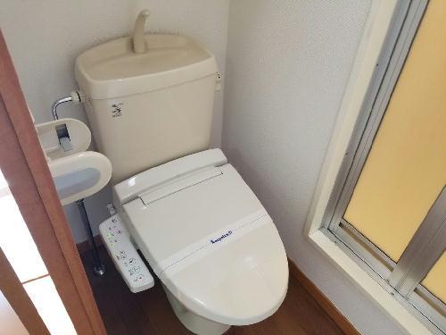 レオパレス愛 206号室のトイレ