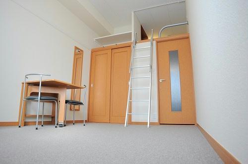 レオパレスグランドゥール 202号室のリビング