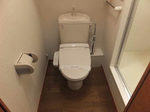 レオパレスグランドゥール 202号室のトイレ