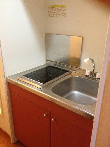 レオパレスコンプリートN 207号室のキッチン