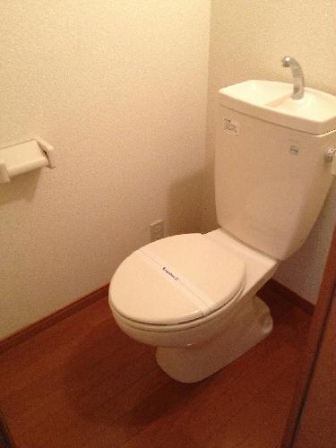 レオパレスコンプリートN 207号室のトイレ