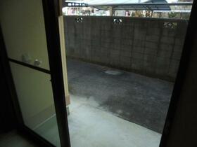 シティーコーポ深澤 A棟 101号室のバルコニー
