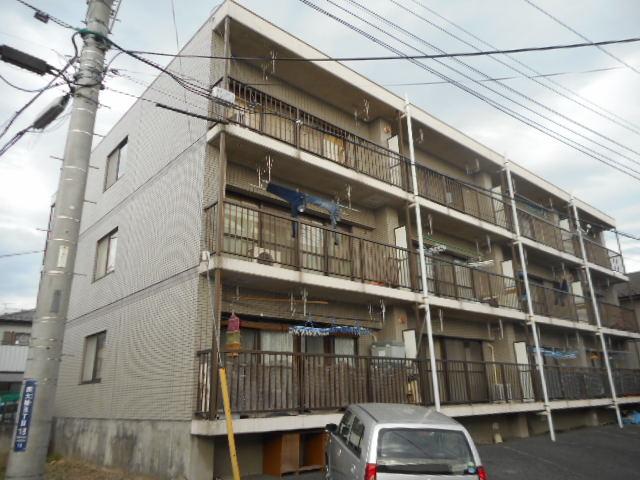 サンライズマンションB棟 202号室の外観