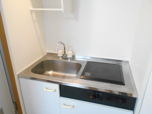 エーム 101号室のキッチン