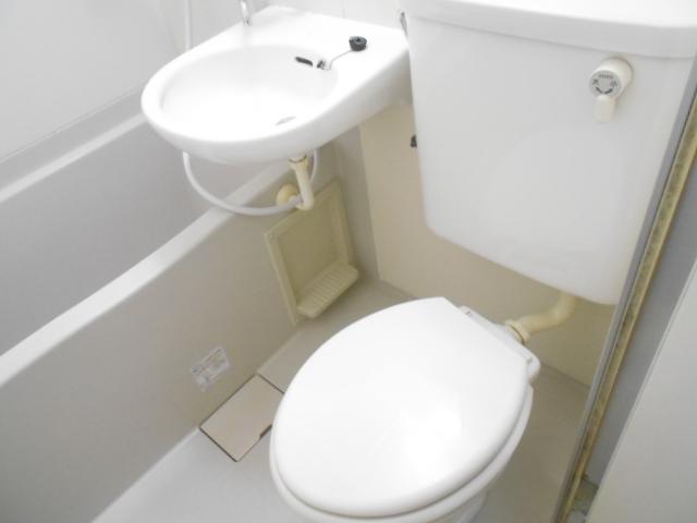 エーム 101号室のトイレ