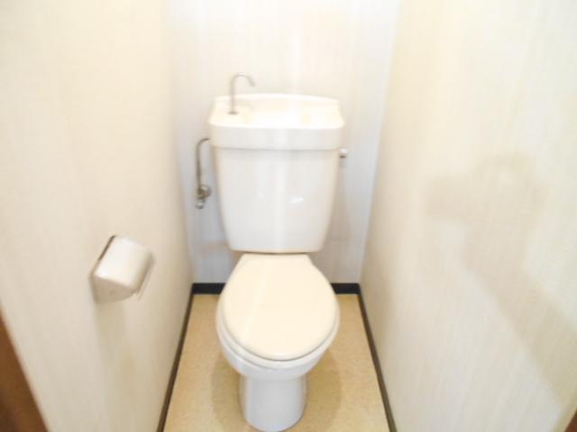齋藤ビル 301号室のトイレ
