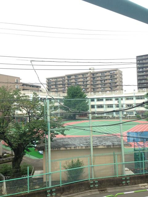 中山グリーンハイツ A-21号室の景色