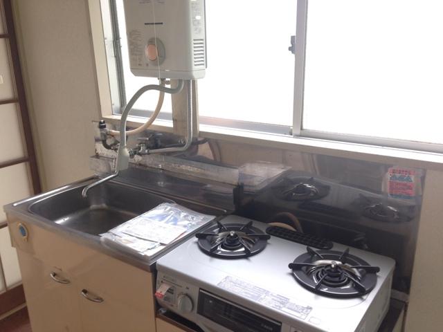 中山グリーンハイツ A-21号室のキッチン