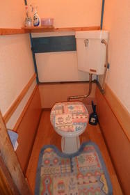 黒須荘 203号室のトイレ