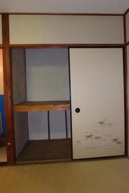 黒須荘 203号室の収納