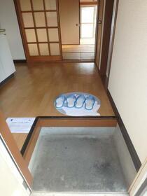 第二福田ハイツ 101号室の玄関