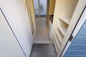 西川口コスモスパートⅠ 202号室の玄関