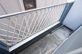 西川口コスモスパートⅠ 202号室のバルコニー