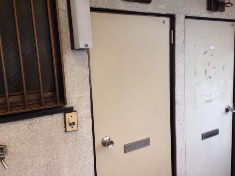永山コーポ 203号室の玄関