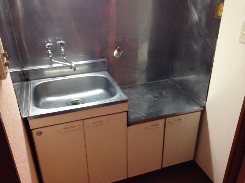 永山コーポ 203号室のキッチン
