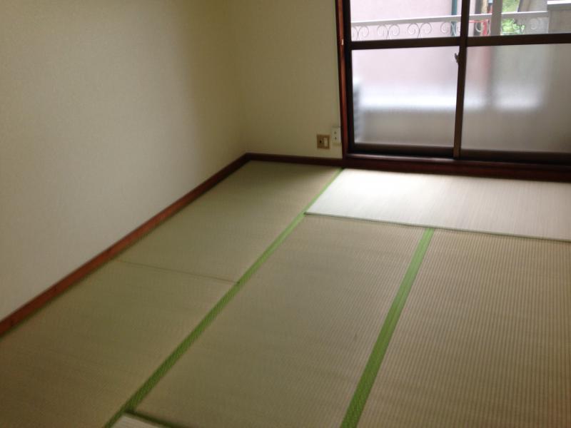 永山コーポ 203号室のリビング