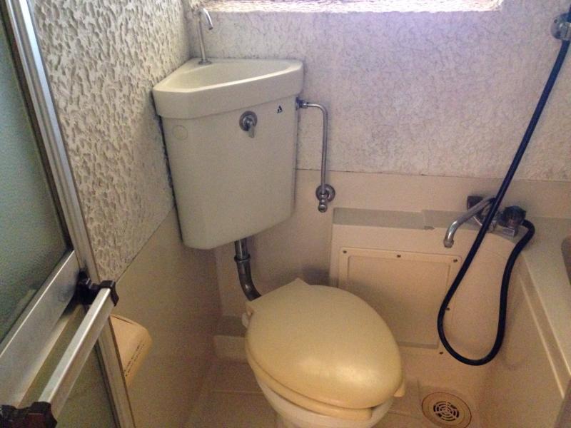永山コーポ 203号室のトイレ