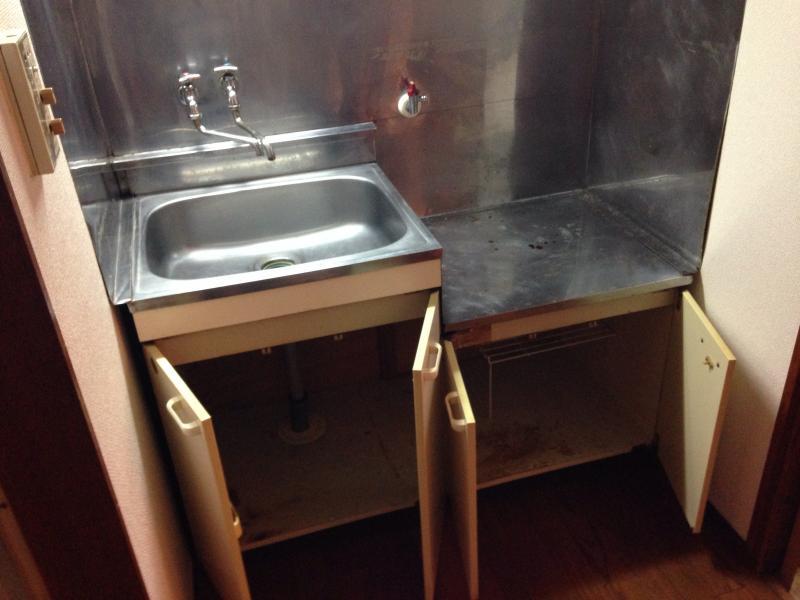 永山コーポ 203号室の洗面所