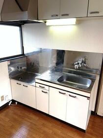 メゾン斉藤 203号室のキッチン