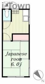 コーポ豊田 207号室の間取り