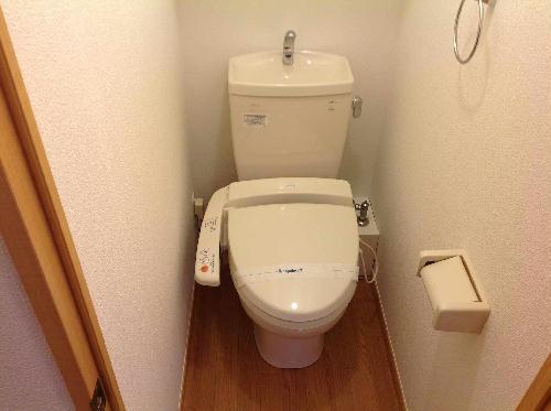 レオパレスフォレスト矢口 302号室のトイレ