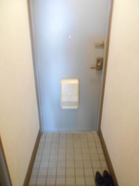 ハイネス下野谷 201号室の玄関