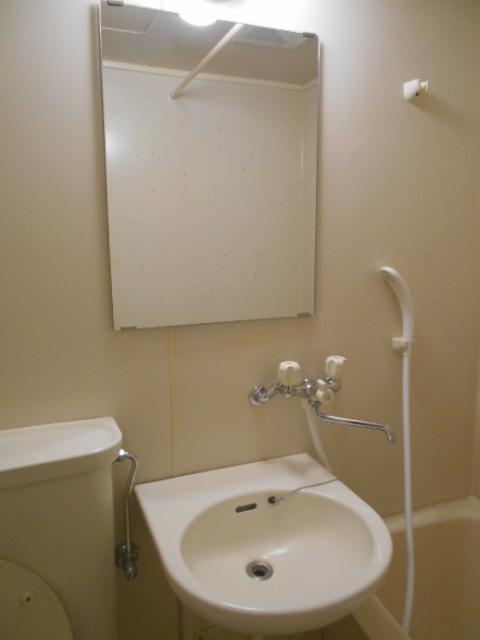 ハイネス下野谷 201号室の洗面所