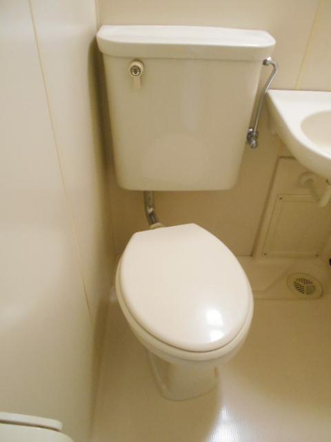 ハイネス下野谷 201号室のトイレ