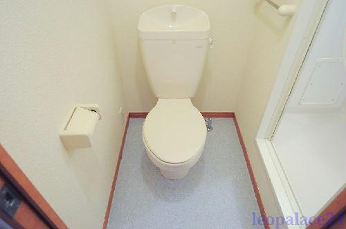レオパレスASAHI 203号室のトイレ
