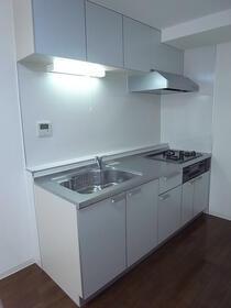 アビタシオンクレール 0107号室のキッチン