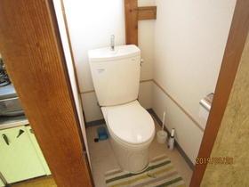 ハイツ中山 201号室のトイレ