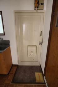 菊地ビル 303号室の玄関