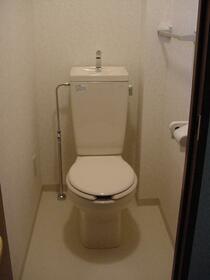 グランパレス 203号室のトイレ
