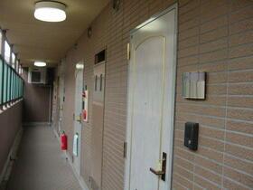 グランパレス 203号室の玄関