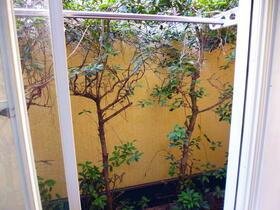ガーデンヒルズ池上 203号室のバルコニー