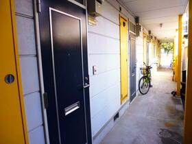 ガーデンヒルズ池上 203号室の玄関
