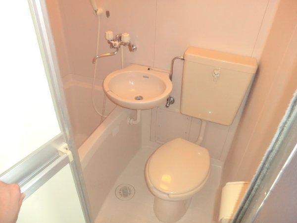 サンライズベル 305号室のトイレ