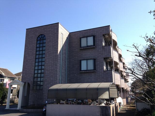 武蔵村山ウエストハイツの外観