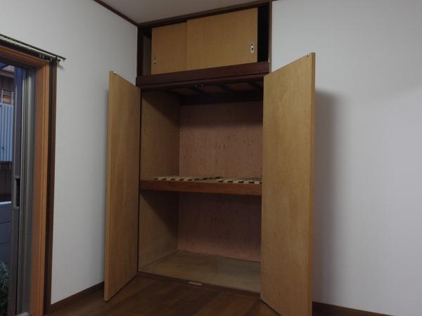 藤荘 1-A号室の収納